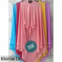 Jual Hijab Layer - Khimar Lyra Virna Ref - Khimar Ceruti 2 Lapis Layla Murah