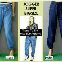 celana joger pants jeans super jumbo xxxl. celana jogger cewek