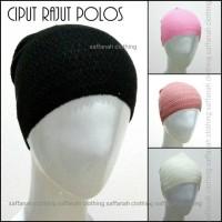 Jual Ciput Polos Rajut Inner Dalaman Hijab Murah
