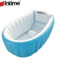 Jual PROMO PAKET INTIME BABY BATH TUB BIRU + POMPA 5 INCH Murah