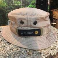 Topi Rimba Eiger Bucket Field Hat - Krem
