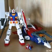 GFF Metal Composite RX-78-2 Gundam Ver Ka G Fighter BANDAI ORI