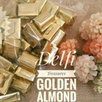Jual DELFI TREASURES GOLDEN ALMOND 250GR Murah