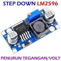 LM2596 adjustable DC-DC step down module ultra compact input 3-40V output 1.5-35V