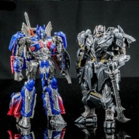 Transformers 5 The Last Knight Voyager Optimus Prime Megatron 18cm Toy