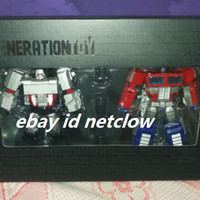 Transformers Generation Toy GT-5 Optimus Prime Megatron in Stock