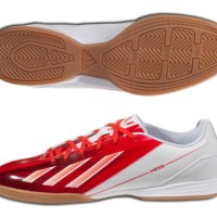 sepatu - ADIDAS MESSI 1 F10 IN INDOOR SOCCER SHOES FUTSAL White/Red.