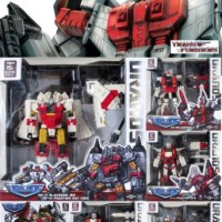 Transformers Authentic TFC Uranos 5 figure set / Superion Brand New