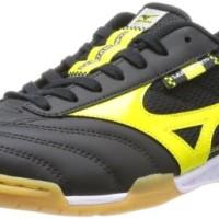 sepatu - MIZUNO Futsal Shoes LANCAMENTO SL 4 Black x yellow Q1GA1423 N