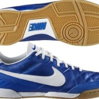 sepatu - NIKE TIEMPO NATURAL IV IC INDOOR SOCCER FUTSAL SHOES Soar/Whi