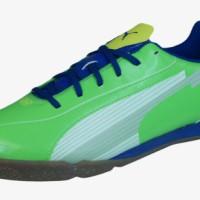 sepatu - Puma evoSPEED 5 IT Mens Soccer Futsal Shoes / Sneakers - Gree