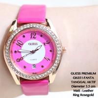 TERBARU Jam tangan wanita rolex premium full diamond hermes/fossil/gue