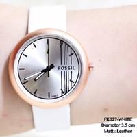 TERBARU Jam tangan fossil wanita tali kulit new model terbaru grosir g