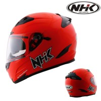 Helm Full Face NHK RX9 Solid Red, Maroon, White Not KYT INK GM Zeus