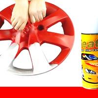 Cat Semprot Karet Pilox Sticker Velg Rubber Paint Coating Spray Film