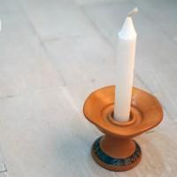 Jual tempat lilin clay souvenir pernikahan unik gift promosi perusahaan Murah