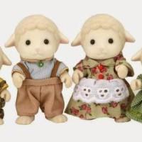 ORI SYLVANIAN FAMILIES - SHEEP FAMILY - Mainan - Boneka - Koleksi