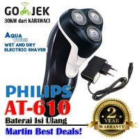 Philips AT610 AquaTouch Wet And Dry Electric Shaver AT 610