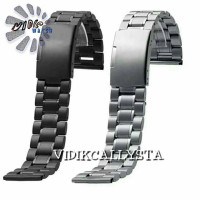 STRAP WATCH / TALI RANTAI JAM TANGAN STAINLES SOLID 20 22 24 26 28 MM