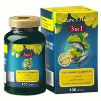 Jual Nature's Health omega 3+squlene+epo membantu kesehatan dll Murah