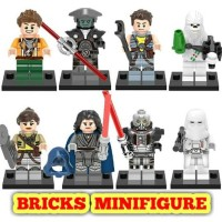 Minifigure 132 Star Wars Chewbacca Darth Malgus Snowtrooper Inquisit