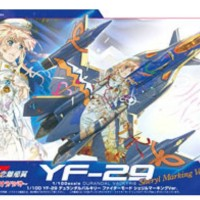 YF-29 Durandal Valkyrie Fighter Mode Sheryl Marking Ver - BANDAI