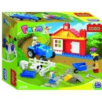 Mainan blocks COGO FARM - 6109