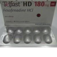 Telfast HD 180mg (Fexofenadine HCI)