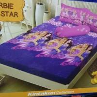 Jual Sprei Dluxe Kintakun No.1 Barbie Pop Star Murah
