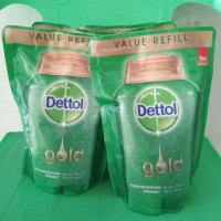 Dettol bodywash refil 250ml variasi gold