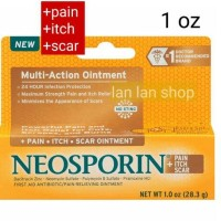 neosporin multi action ointment +pain +itch +scar 1Oz