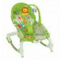 Fisher-Price Bouncer Newborn to Toddler Portable Rocker