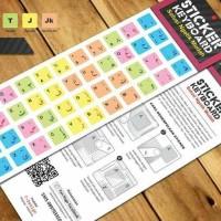 Sticker Keyboard Arab - Colorful