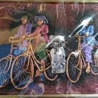46 Lukisan Pemandangan Sepeda Onthel HD