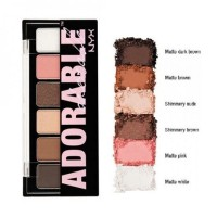 NYX Adorable Shadow Pallette