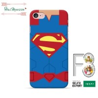 Custom Case NEW OPPO F3 motif Superman Body vector