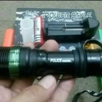 harga Senter Police Power Style 2 Cone Lalin Tokopedia.com