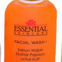 FACIAL WASH PEPAYA Sabun Wajah Cair Untuk Kulit Berminyak