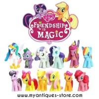 Jual Action Figure Mainan My Little Pony Mini Rainbow Murah