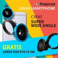 [PROMO] Lensa Kamera HP Super Wide Polaroid CW40 - Gratis Fisheye Lens