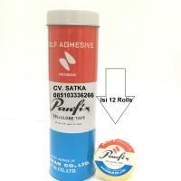 Panfix Cellulose Tape Ukuran 12mm X 10 Yards Selotip Selotape