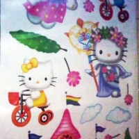 WallSticker - ZS073 - Hello Kitty Kingdom