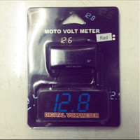 Volt Meter Digital Model Koso Motor Mobil WaterProof
