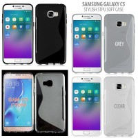 Samsung Galaxy C5 - Stylish TPU Soft Case Casing Silikon Back Cover Hp