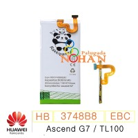 Baterai Huawei Ascend G7 TL100 HB3748B8EBC Double IC Protection