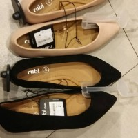 Jual Flat shoes wanita rubi cotton on- primo point - blush /nude ori Murah