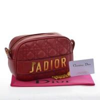 Tas Dior Jadior Sling Bag Quilted Merah Seprem 2017-XY015