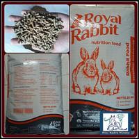 makanan pakan kelinci royal rabbit food 1 kg ecer sekelas skr 214