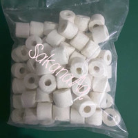 Bioring Keramik / Ceramic Ring Media Filter Aquarium / kolam