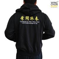 Jaket Hoodie Wing Chun Hitam e4cb11d29b